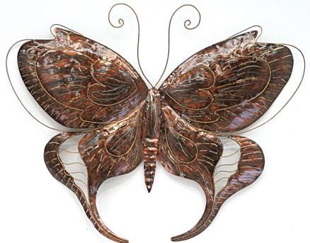 Wanddeco Vlinder 80 x 57 cm Model A