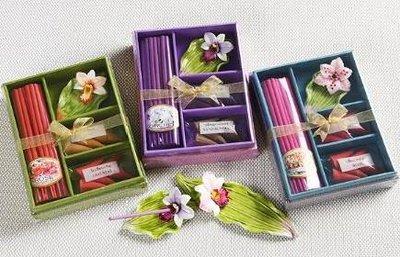 Wierook kadoset mix orchidee, M