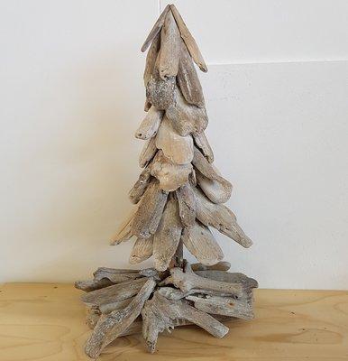 Kerstboom, drijfhout